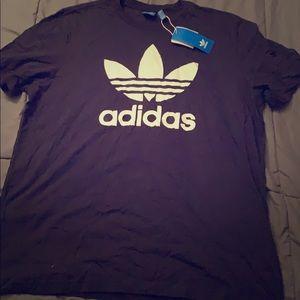 Adidas Logo Workout Tee, XL